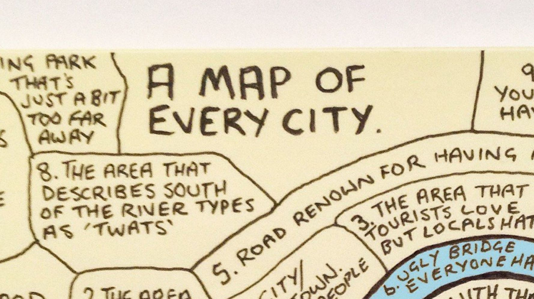Hilarious Map Proves That Every City Is The Same Damn Place