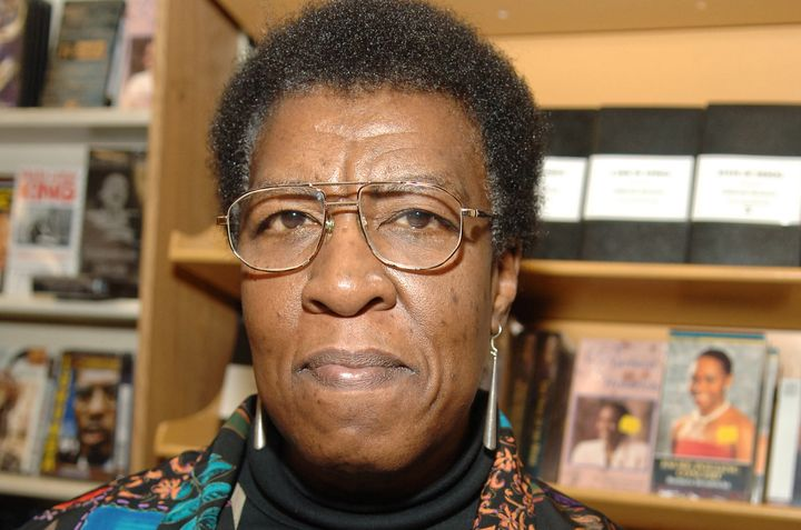 Octavia E. Butler during a reading of her book 'Fledgling' at Eso Won Books in Los Angeles, California.