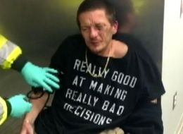 Man Arrested Wearing ''Really Good At Making Really Bad Decisions' T-Shirt
