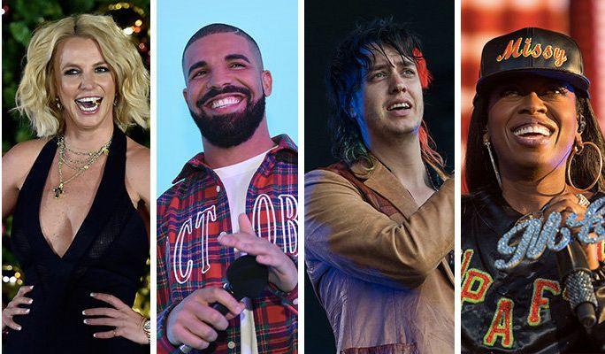 Britney? Drake? The Strokes? Missy?