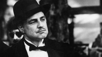 American actor Marlon Brando as Don Vito Corleone in The Godfather by Francis Ford Coppola. 1972. (Photo by Mondadori Portfolio via Getty Images)