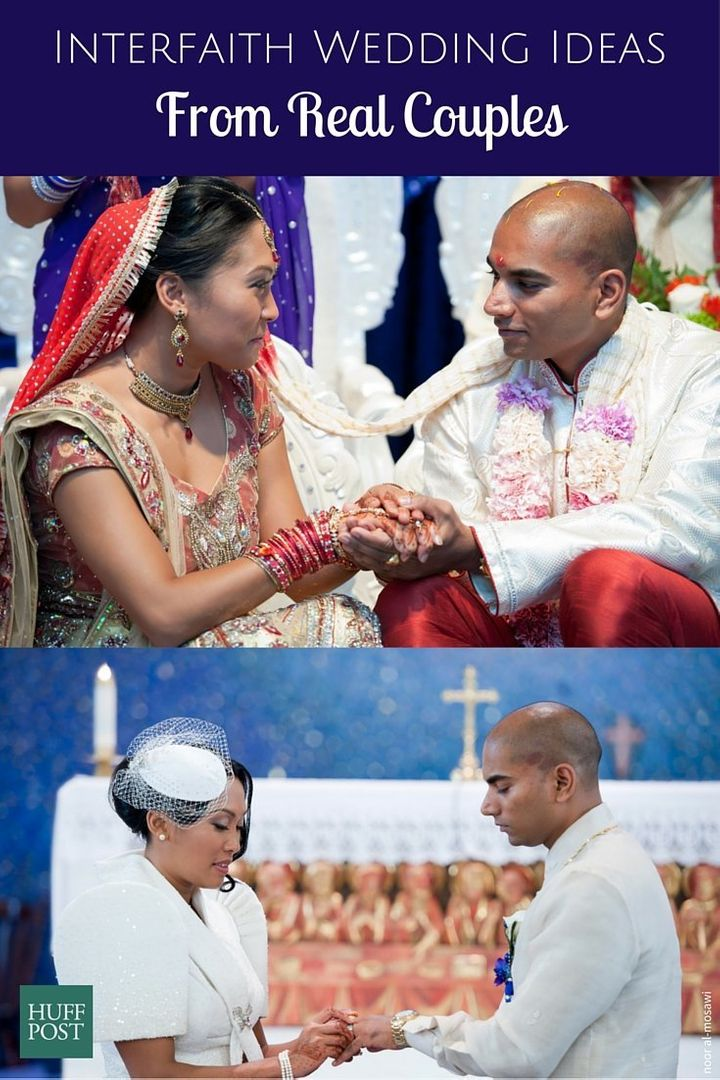 How 9 Couples Brought Their Faiths Together On Their Wedding