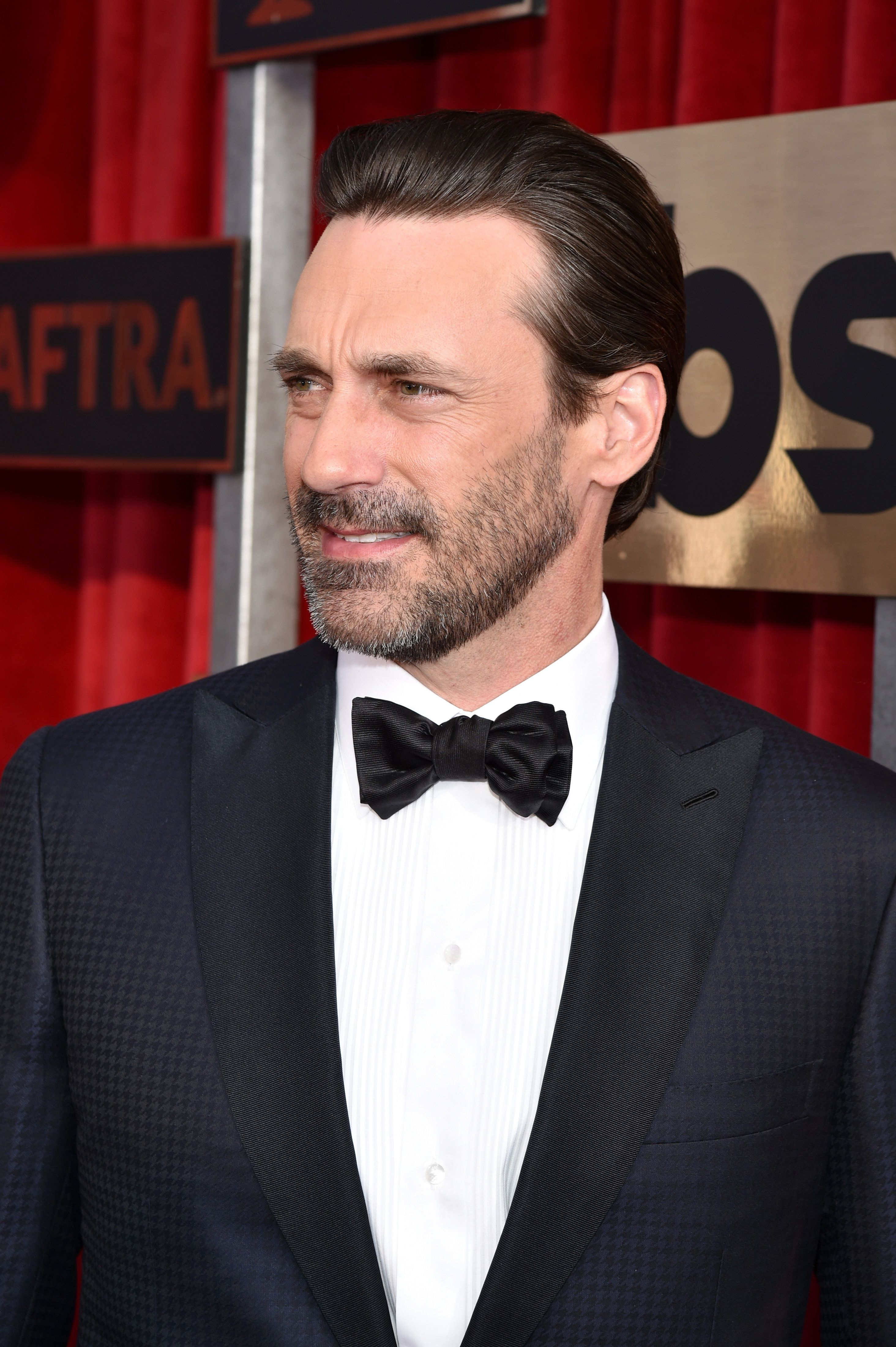 LOS ANGELES, CA - JANUARY 30:  Actor Jon Hamm attends the 22nd Annual Screen Actors Guild Awards at The Shrine Auditorium on January 30, 2016 in Los Angeles, California.  (Photo by John Shearer/Getty Images for People Magazine)