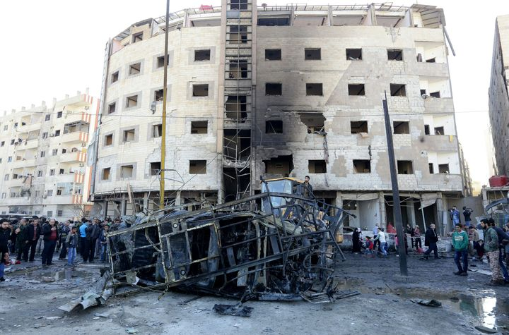 The Islamic State militant group claimed responsibility for the bombings.