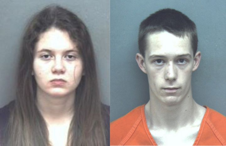 Students Natalie Keepers, 19, and David Eisenhauer, 18, face charges in the murder of a 13-year-old girl.
