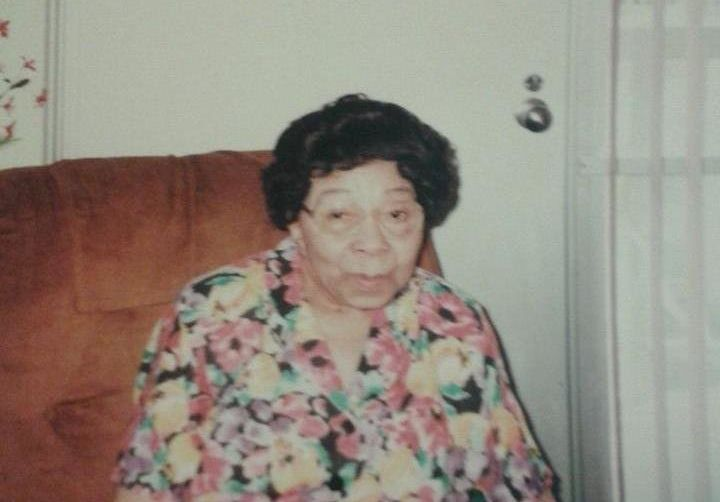 My paternal grandmother, Mamie Lue Powell.