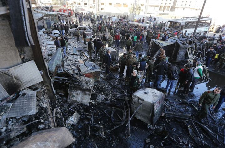 As peace talks begin for the first time in two years, ISIS claimed responsibility for an attack that killed over 60 people in Damascus Sunday.