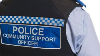 An english Police Community support officer