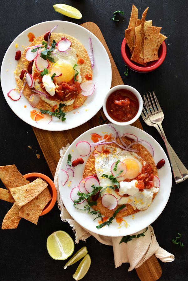"""<strong>Get the <a href=""""http://minimalistbaker.com/gluten-free-breakfast-tostadas/"""" target=""""_blank"""">Gluten-Free Breakfast To"""