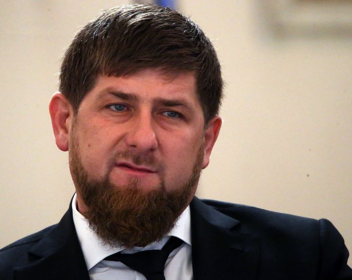 Chechen President Ramzan Kadyrov posted a video to his Instagram account on Sunday that featuresopposition leader Mikha