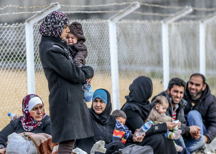 Many of the refugees are women, children and elderly civilians.