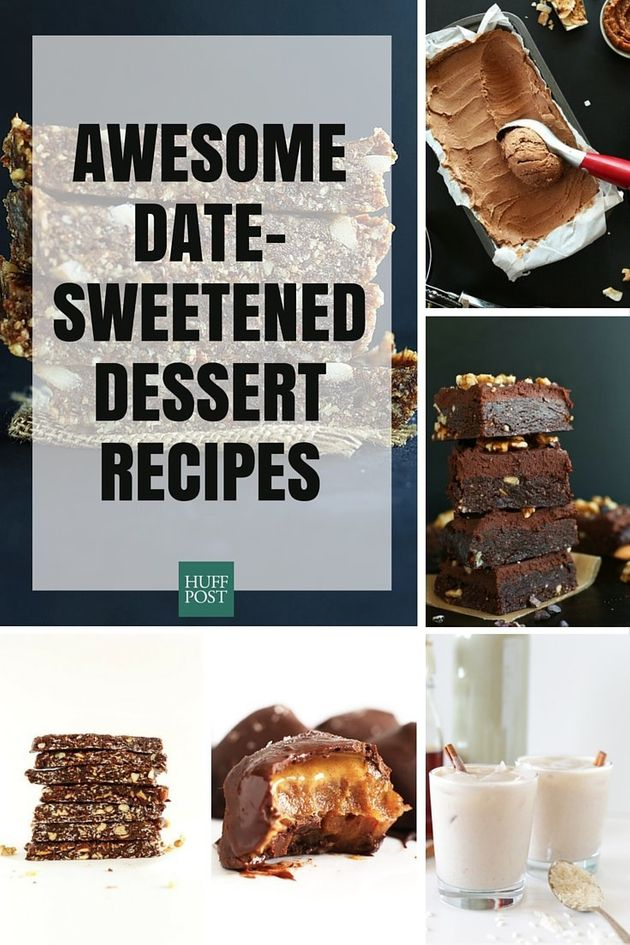Date Recipes Are The Best Way To Naturally Sweeten Your