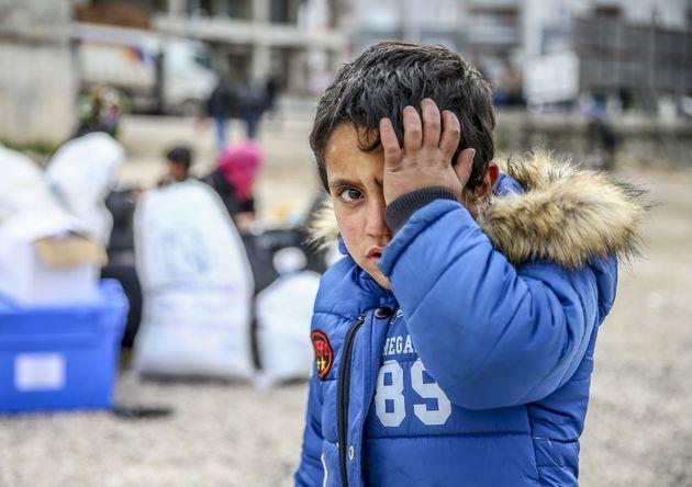 Advances by SyrianPresident Bashar Assad's regime have caused thousands of civilians to seek refuge...
