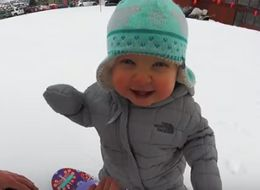 Watch This Snowboarding Toddler Show Us How It's Done