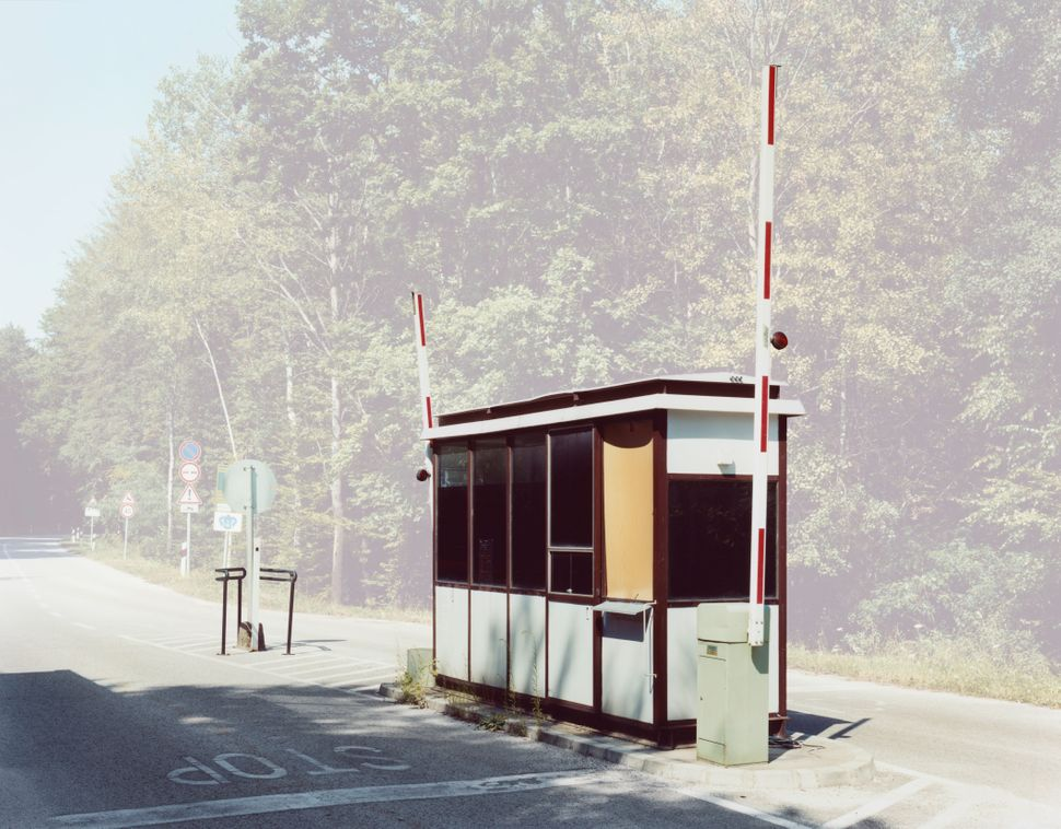 Polish-born, Germany-based photographer took photos of defunct European border crossings to challenge how Europeans cons