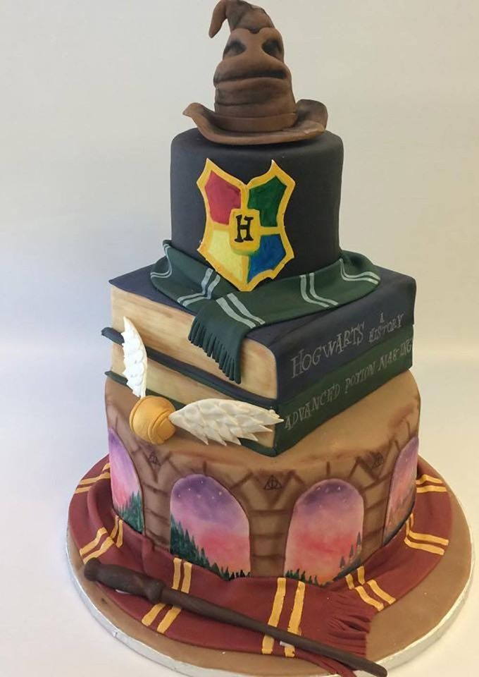 This Magical Harry Potter Cake Is What Wedding Dreams Are Made Of