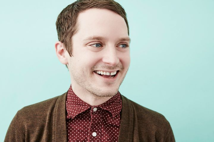 """Elijah Wood of """"The Greasy Strangler"""" poses for a portrait at the 2016 Sundance Film Festival Getty Images Portrait Studio on"""