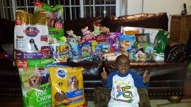 Sweetest 5 Year Old Dedicates Birthday To Helping Rescue Animals