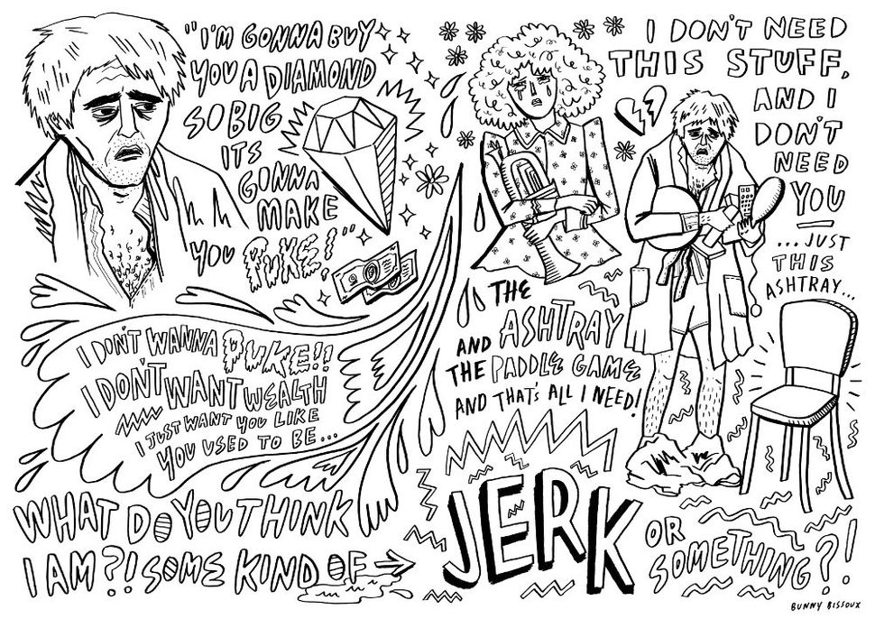 """The Jerk"" by Bunny Bissoux"