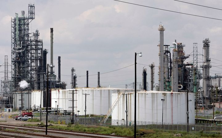Detroit residents and local officials have criticized Marathon Petroleum's plans to increase emissions at the refinery, pictu