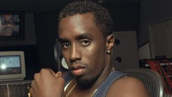 UNITED STATES - JULY 14:  Sean 'Puffy' Combs in recording studio at 321 W. 44th St.  (Photo by Andrew Savulich/NY Daily News Archive via Getty Images)