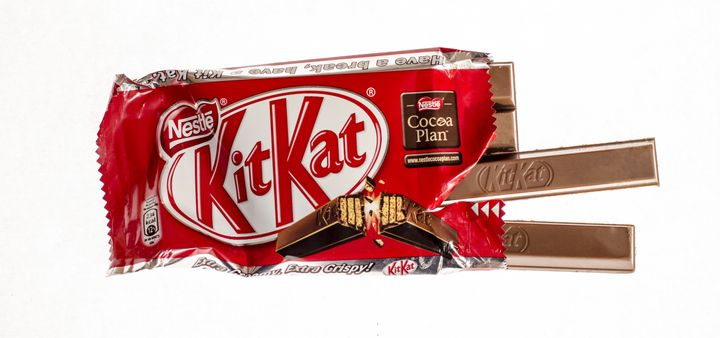 Eating aKit Kat without the delicious wafers was a traumatic experience for one candy fan.