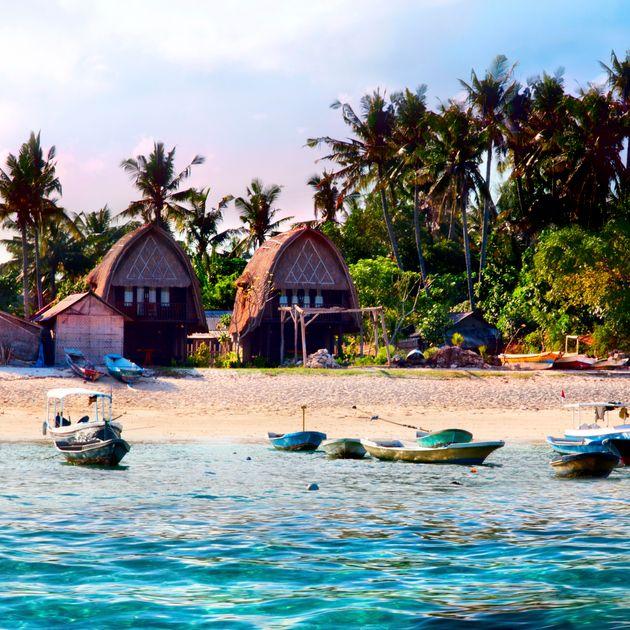 レンボンガン島、この小さな楽園はどこ?