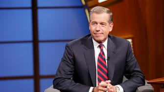LATE NIGHT WITH SETH MEYERS -- Episode 065 -- Pictured: NBC News' Brian Williams during an interview on July 7, 2014 -- (Photo by: Lloyd Bishop/NBC/NBCU Photo Bank via Getty Images)