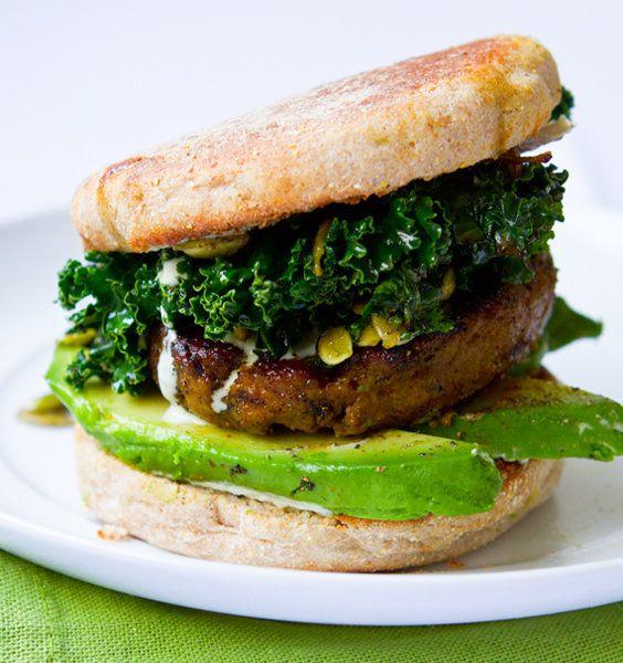 "<strong>Get the <a href=""http://kblog.lunchboxbunch.com/2012/03/shamrock-breakfast-sandwich-kale.html"" target=""_blank"">Kale B"