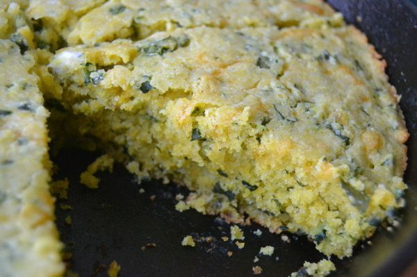 "<strong>Get the <a href=""http://theviewfromgreatisland.com/2014/09/cheddar-kale-skillet-cornbread-giveaway.html"" target=""_bla"