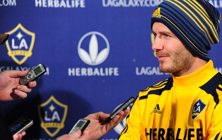 David Beckham retired from professional soccer in 2013, after a 21-year career that saw him play for Manchester United, Real