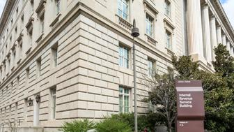 The IRS Service Building on Constitution Avenue in Washington DC.I invite you to view some of my other Washington photos: