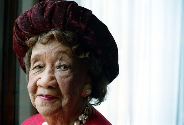 "<a href=""http://www.biography.com/people/dorothy-height-40743"" target=""_blank"">Dr. Height</a> was regarded by President Barac"