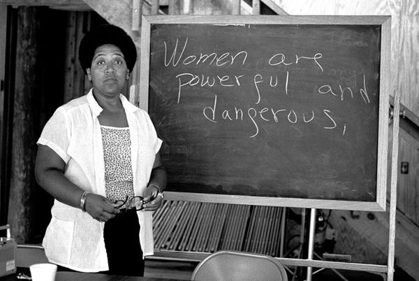 "This <a href=""http://www.biography.com/people/audre-lorde-214108"" target=""_blank"">Caribbean-American writer</a> and activist"