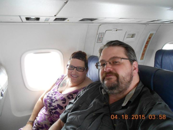 Cindy Cheesbrough and Jason Istas during their 2015 Cancun vacation. Cheesbrough said she did a lot of praying whil