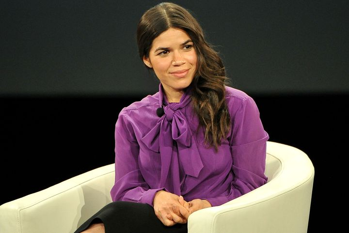 America Ferrera got real about diversity at the MAKERS Conference in Rancho Palos Verdes, CA.