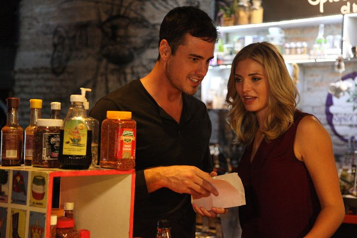 Olivia cozies up to Ben during this episode's group date.