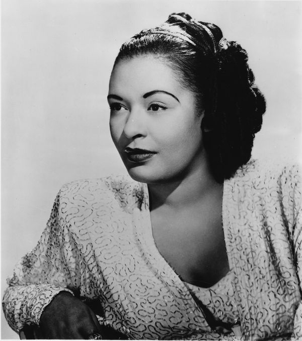 "Holiday was an extremely influential jazz vocalist who was known for her ""distinctive phrasing and expressive, sometimes mela"