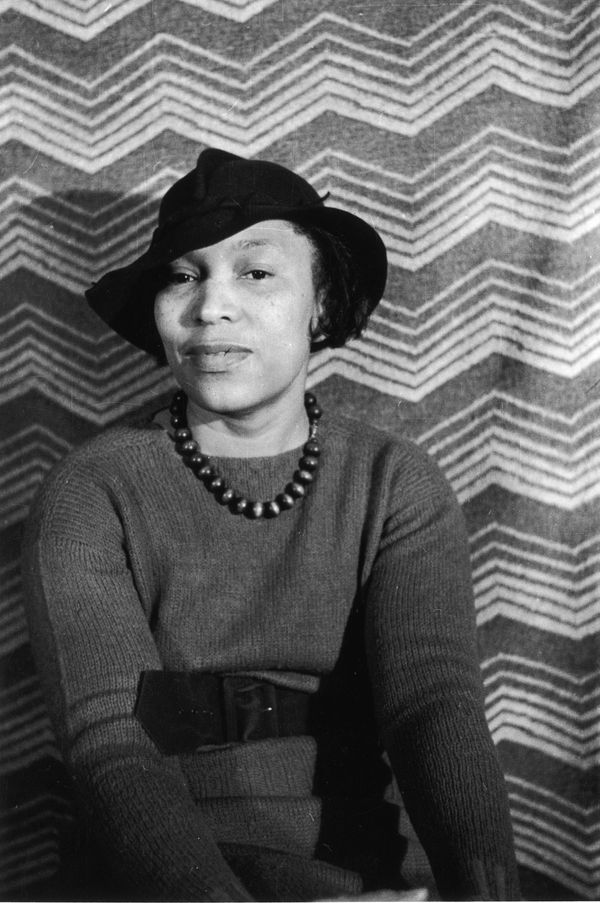 "<a href=""http://www.biography.com/people/zora-neale-hurston-9347659"" target=""_blank"">Hurston</a> was an anthropologist a"