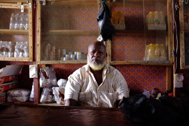 Mr. Dube, a restaurateur in Dadaab who sent $75,000 to his sons in