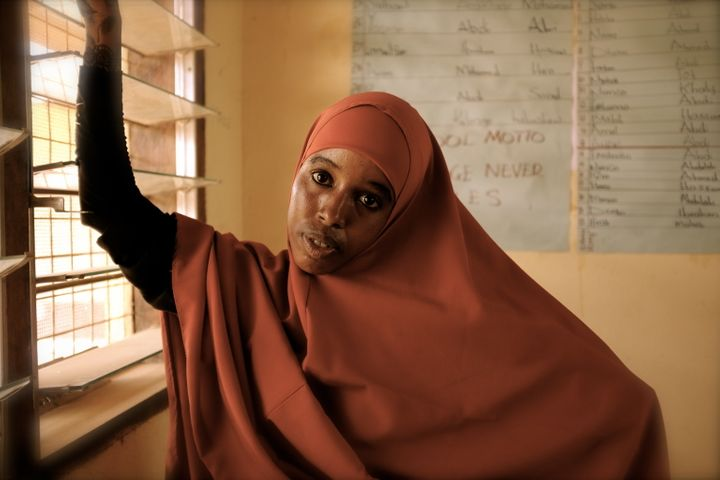 Kheyro, one of the nine Dadaab residents featured in <i>City Of Thorns</i>. Kheyro was a student and then a&nb