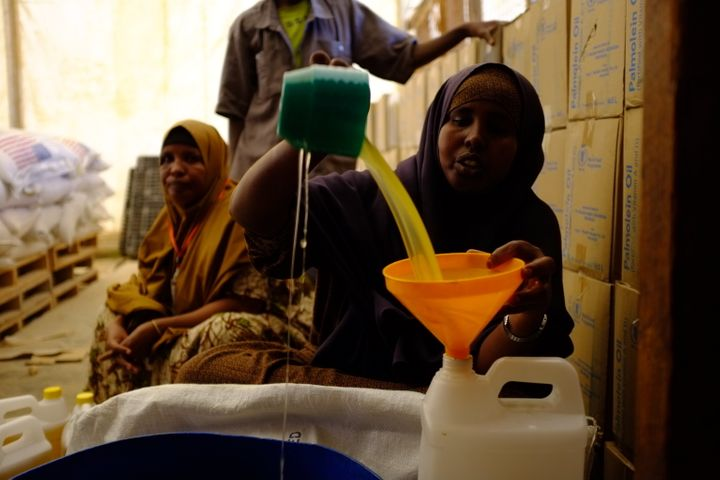 Residents must ration oil in Dadaab. The security clampdown there after a series of al Shabaab attacks further stra