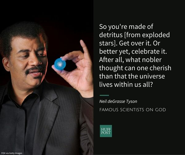 Neil deGrasse Tyson is an astrophysicist and a popular television science expert. He told The Huffington Post thathe&nbs