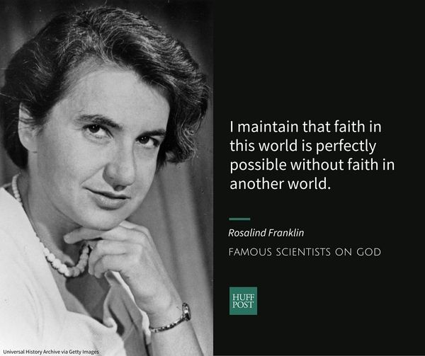 "<a href=""http://www.biography.com/people/rosalind-franklin-9301344"" target=""_blank"">Rosalind Franklin</a>, who helped&nbsp;pi"
