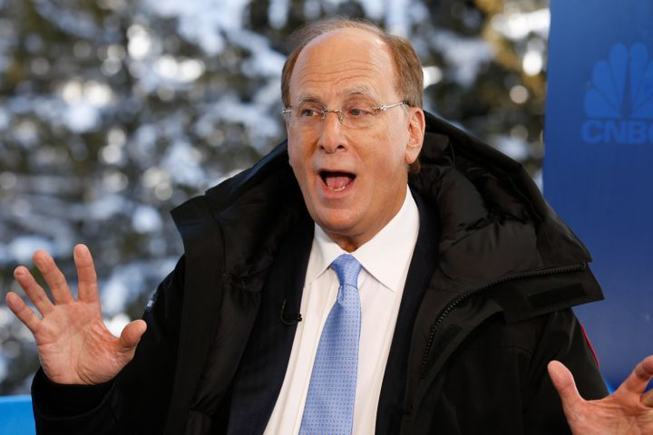 BlackRock chairman and CEO Larry Fink wants investors to stop obsessing over short-term financial results.