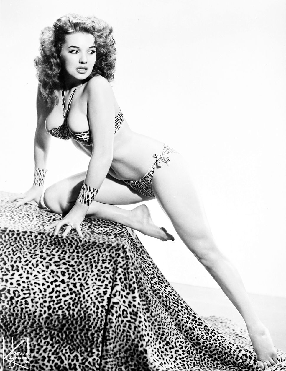Blaze Starr, also known as Fannie Fleming, poses in1960.