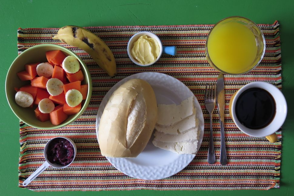 """Breakfast in Brazil is usually a light meal,"" Luciana Sarmento says. ""It's not considered the most important meal of t"