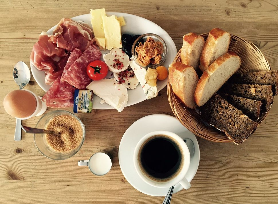 """Lea Kosch from HuffPost Germany says: """"Germans usually eat whole wheat bread, cheese, cold cuts and a soft-boiled egg. The mo"""
