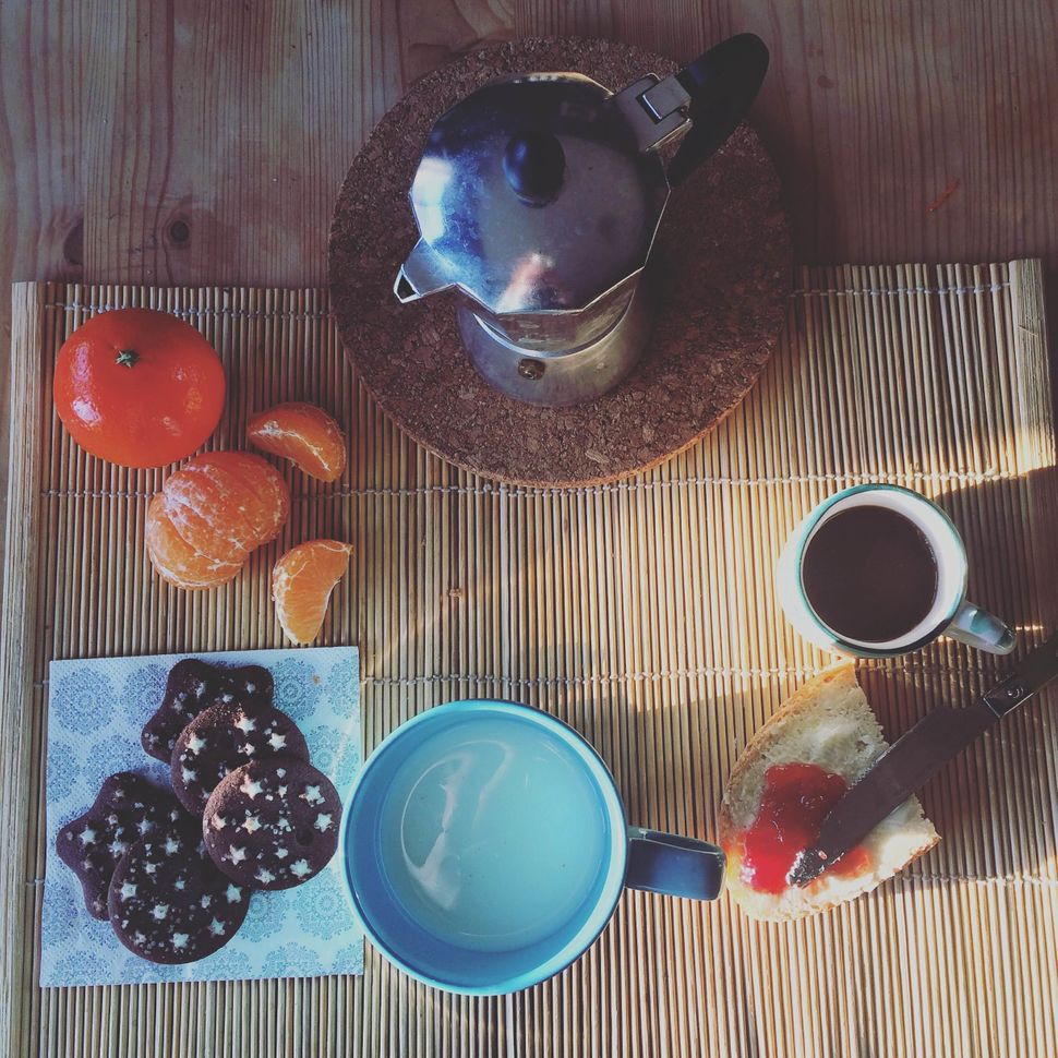 """""""Italians like sweets,"""" Chiara Piottotells us. """"A typical breakfast is usually made up of milk and cookies. Adult"""