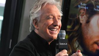 NEW YORK, NY - JUNE 19:  Actor Alan Rickman speaks about his film 'A Little Chaos' during AOL Build Speaker Series Presents: Alan Rickman at AOL Studios In New York on June 19, 2015 in New York City.  (Photo by Desiree Navarro/WireImage)